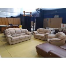 Dabīgas ādas dīvāns